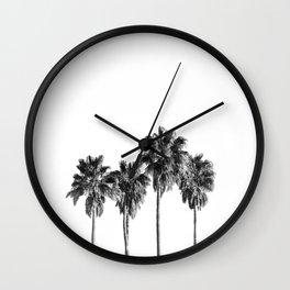 Palm trees 3 Wall Clock