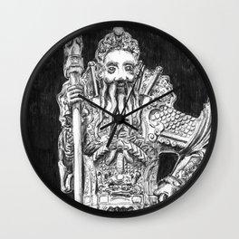 Wat Pho Guardian Wall Clock