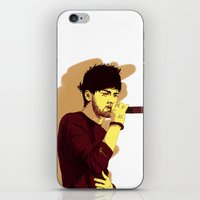 zayn iPhone & iPod Skins featuring Zayn by Intrepid Lens
