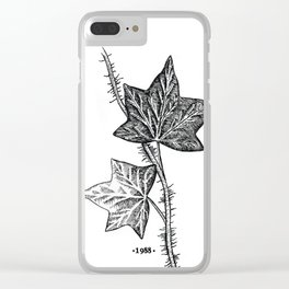 Ivy Clear iPhone Case
