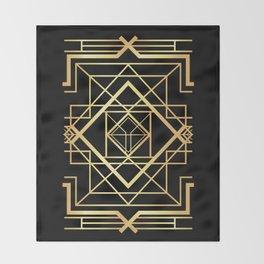 1920 Art deco Gatsby Style Throw Blanket
