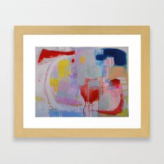 What I Meant to Say Framed Art Print