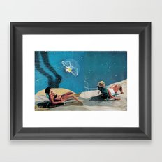 Sun Bakers Framed Art Print