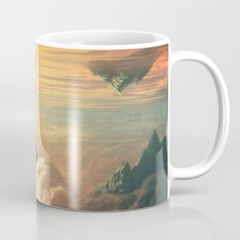 Worlds Collide - Glitch Series Coffee Mug