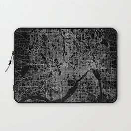 minneapolis map Laptop Sleeve