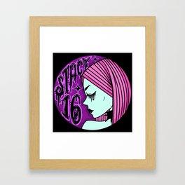 Stacy 16 Legacy Logo Framed Art Print