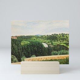 Outskirts of Segovia Mini Art Print