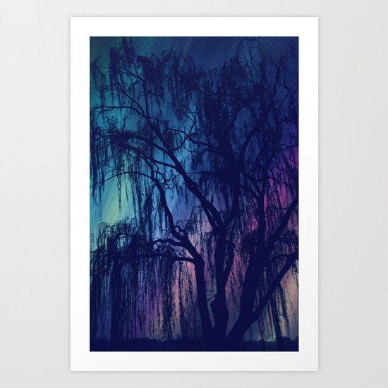 Weeping Art Print