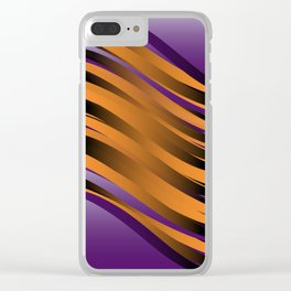 Curves 04 Clear iPhone Case