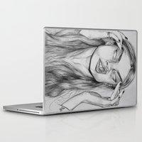 cara Laptop & iPad Skins featuring Cara by David Pérez
