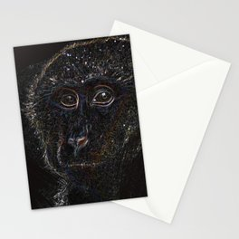 macaque Stationery Cards