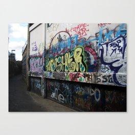 Hare Row - Graffiti  Canvas Print