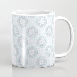 Teal Aqua Mandala Coffee Mug