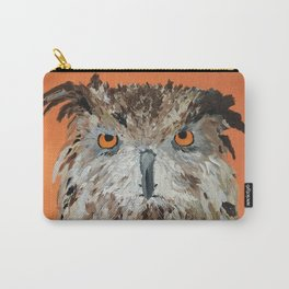 Wise Owl.  Hootie, Who, Who Carry-All Pouch