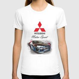 Cars: 2015 Mitsubishi Lancer Evolution T-shirt
