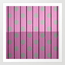 polka Art Print