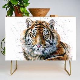 Tiger watercolor Credenza