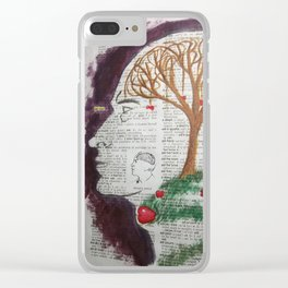 Atom's Apple Clear iPhone Case