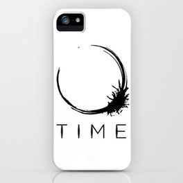 Arrival - Time Black iPhone Case