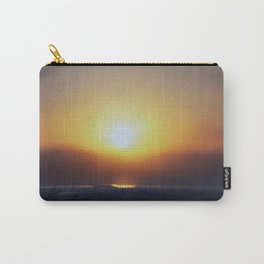 Sunset Droplet Carry-All Pouch