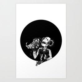Faux King Art Print