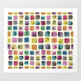Colors in Suspension02 Art Print