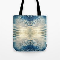 fractal Tote Bags featuring Fractal by GBret