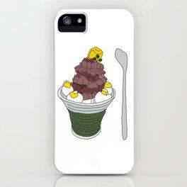 Marron Sundae iPhone Case
