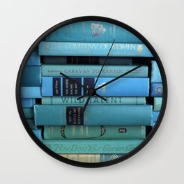 Wild Talent in Teal Wall Clock