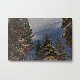 Tahoe Night Sky  Metal Print