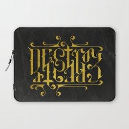 Destroy Create Laptop Sleeve
