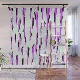 Dripped in Purple  Wall Mural