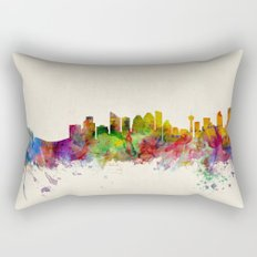 Calgary Skyline Rectangular Pillow