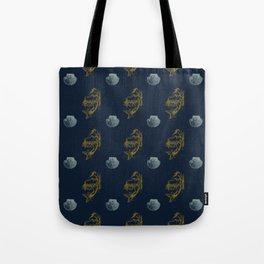 Sirens & Seashells - Nautical pattern by Kristen Baker Tote Bag