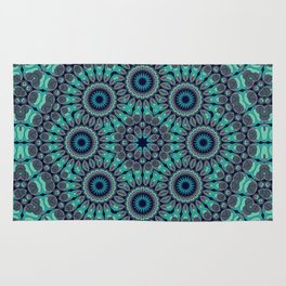 Water Mandala Rug