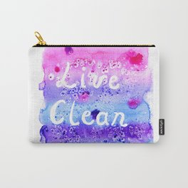 Live Clean Carry-All Pouch