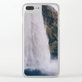 Waterfall 04 Clear iPhone Case