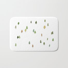 A Tree Falls Bath Mat