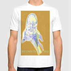 Ingmar Bergman Mens Fitted Tee White MEDIUM