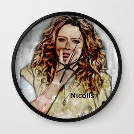 NICHOLLS Wall Clock