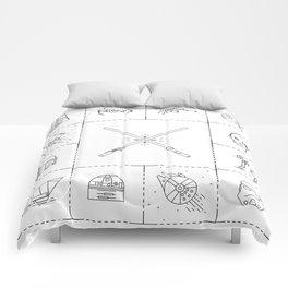Iconic Star Lines Wars Comforters