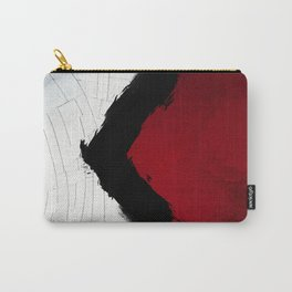 BLOOD RED RIBBON Carry-All Pouch