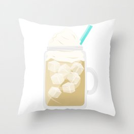 Happiness in a Mug :) Throw Pillow
