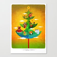 A Very Filipino Christmas Canvas Print