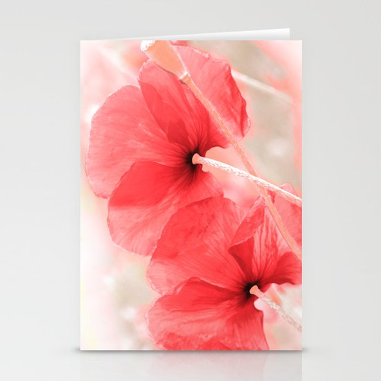 Poppies(airiness). Stationery Cards