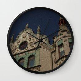 Architecture Of Tallinn Wall Clock