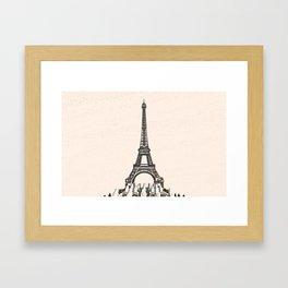 ArtWork Tower Eiffel Paris France Painting Art Print Framed Art Print