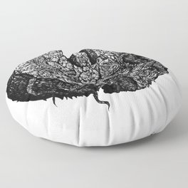 Wu-Tang Ain't Nuthin to F' Wit - B&W Floor Pillow
