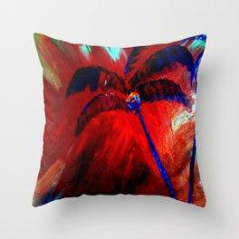 Royal Palms Throw Pillow