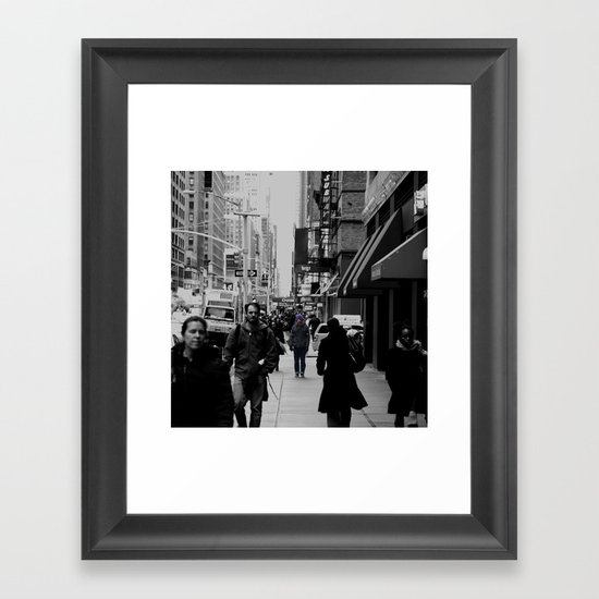 Forget it all Framed Art Print